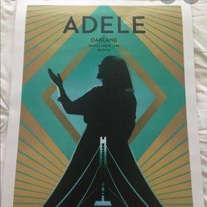 ISO Adele Oakland poster